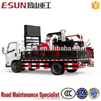 ESUN CLYG-CS500 500L Truck mounted external pump asphalt crack sealing machine