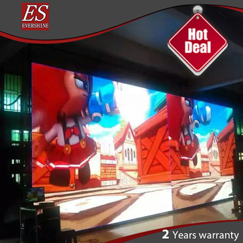 HD Full Color Led Display Screen P4 Indoor Hanging Structure Stage Led Display