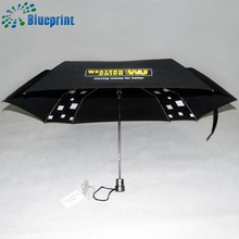 China suppliers cheap automatic square fabric foldable umbrella