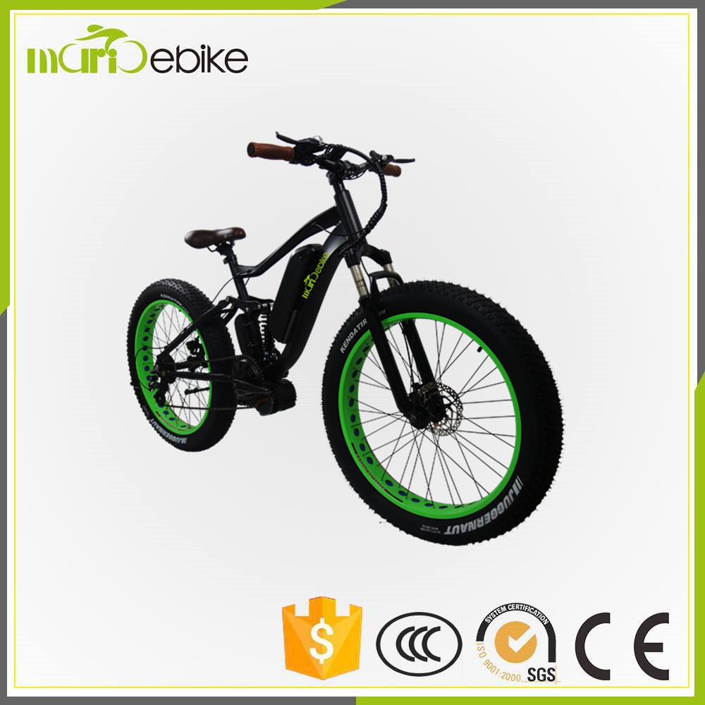 2017 Fat Tire 1000W Electric Bike Bicycle Conversion Ebike Kit 48v