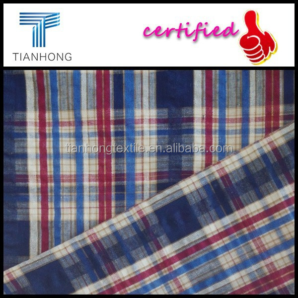 plaid pattern 100 cotton yarn dyed seersucker tartan fabric for shirts buy 100 cotton yarn. Black Bedroom Furniture Sets. Home Design Ideas