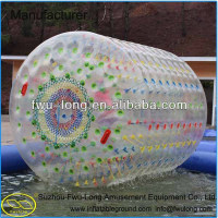 Big discount top quality inflatable used water roller ball on sale,big plastic hamster ball toys
