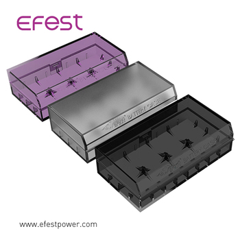 Made out of a highly durable plastic material Efest H2 battery case keep your batteries safe and protected