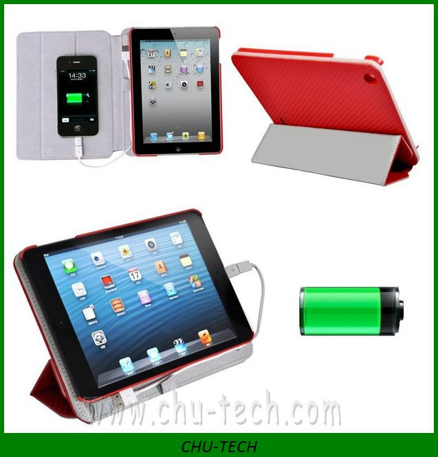 10000 mah Battery Charger Case For ipad mini