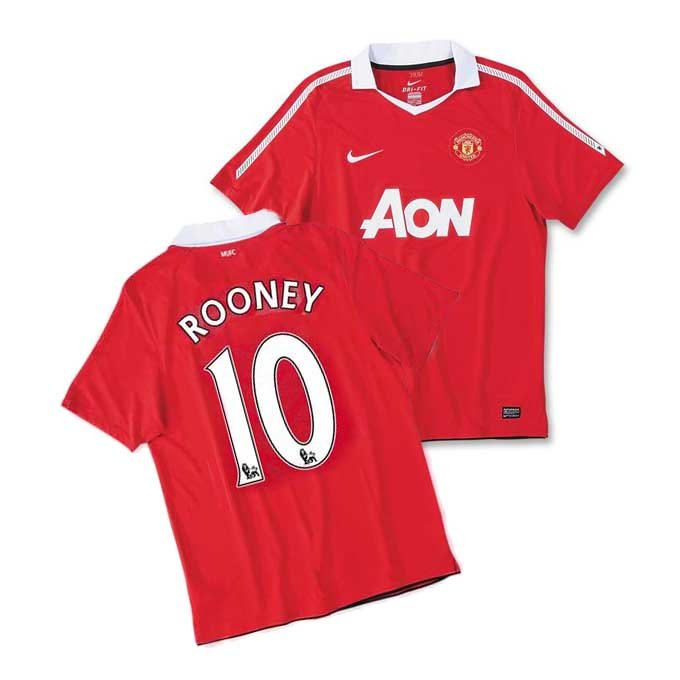 Red Devils Soccer Football Jersey Shirt