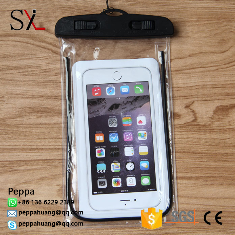 Popular Plastic PVC Waterproof Bag Waterproof Phone Case For Ipad Mini Case