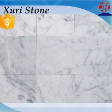 Popular Italian Polished Bianco Carrara White Marble Tiles For Wall And Floor