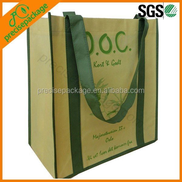 China top quality duty free recyclable Non Woven customized Shopping Bags