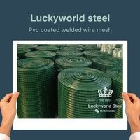 hot sale chinese 1/2 inch pvc coated galvanzied welding iron wire mesh