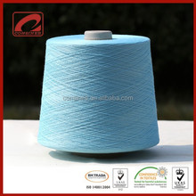 Super soft hand feel blended cotton yarn stock surplus yarn sale