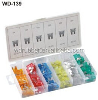 Wangda hot selling 120Pc mini auto fuse kit