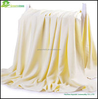 100% bamboo fiber quality printed and super soft mink blanket bamboo blanket china supplier bamboo camel blanket
