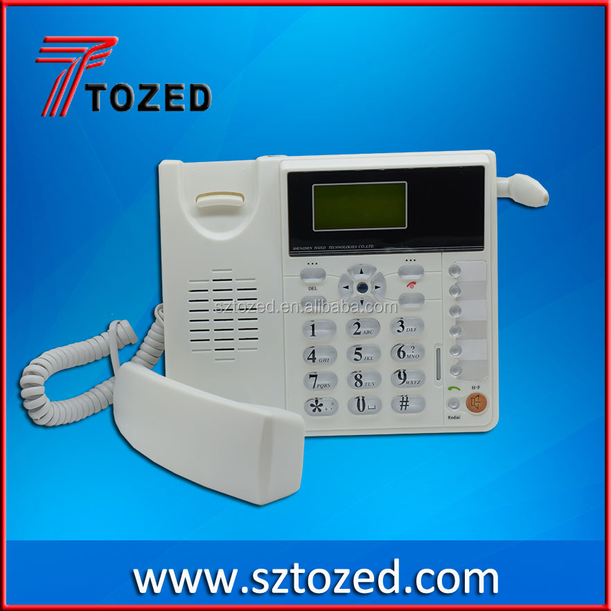 Top selling Desktop VoIP fixed wireless landline telephone