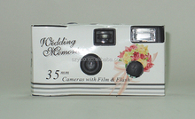 Wedding/Celebration/Party Camera-35MM Wholesale Disposable Cameras with Fuji 200ASA film and built-in D&G Battery