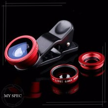 Made in China 3 in 1 phone 180 degree fisheye camera lens for samsung galaxy