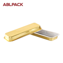 ABL 718ml/24oz gold aluminum container food grade container baking cake mold