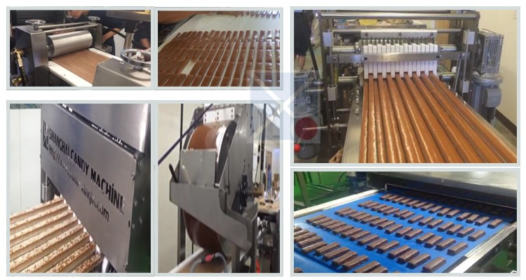 Automatic Muesli/granola/nuts bar making machine