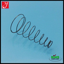 Corrosion resistant retractable steel spring conical compression spring