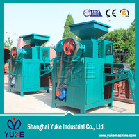 ISO 9001 With professional team service High efficient and high yield sponge iron briquette machine