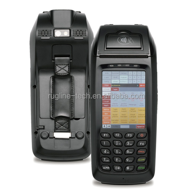 3.5 inch Wireless Handheld Windows CE pos terminal with sim card