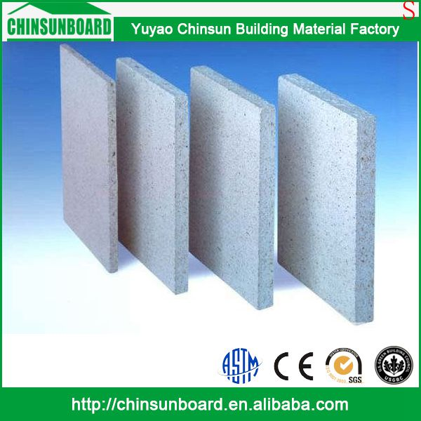 Modern Eco-Friendly Waterproof Fireproof High Density laminated fireproof mgo board