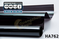 Professional Window Tint Film Roll 20% VLT Shade Black Tinting Car HA-76-2