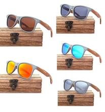 Fashion <strong>plastic</strong> glasses wooden bamboo polarized <strong>sunglasses</strong> women