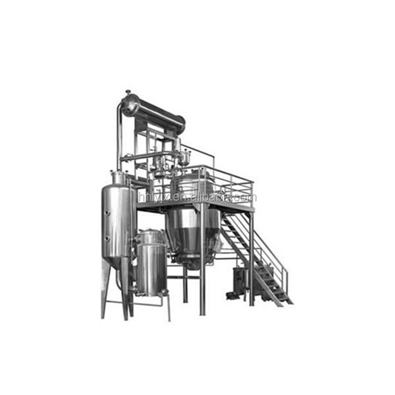 energy saving factory price hot reflux solvent herbal evaporator extraction equipment