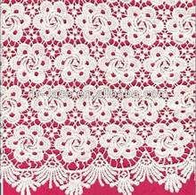 popular african swiss lace fabric 100% cotton for dresses