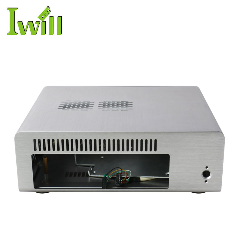 latest cheap high quality professional custom mini- itx htpc computer aluminum case for home