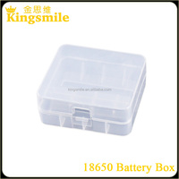 China factory wholesale 18650 plastic box with 4pcs li-ion battery case