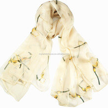 Best Quality Women islamic silk scarf