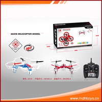 2016 kid plastic flying toy outdoor propel 6axis rc helicopter