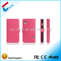 Alibaba in spanish bumper case for lg optimus E460 bumper leather case