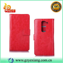 High Quality Book Style Wallet Case For LG G2 Phone Cover