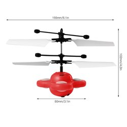 Hot selling China Factory Wholesale hot selling magic flying helicopter ball led flying toy
