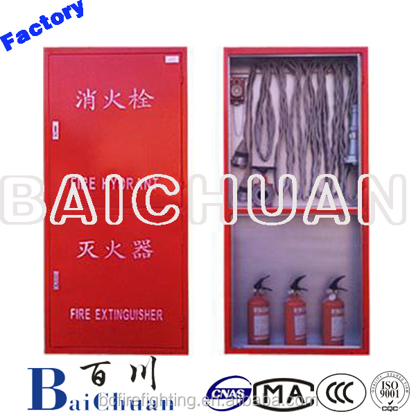 Fire Hydrant Box/Cabinet The Double Compartment Type Fire Safety Equipment
