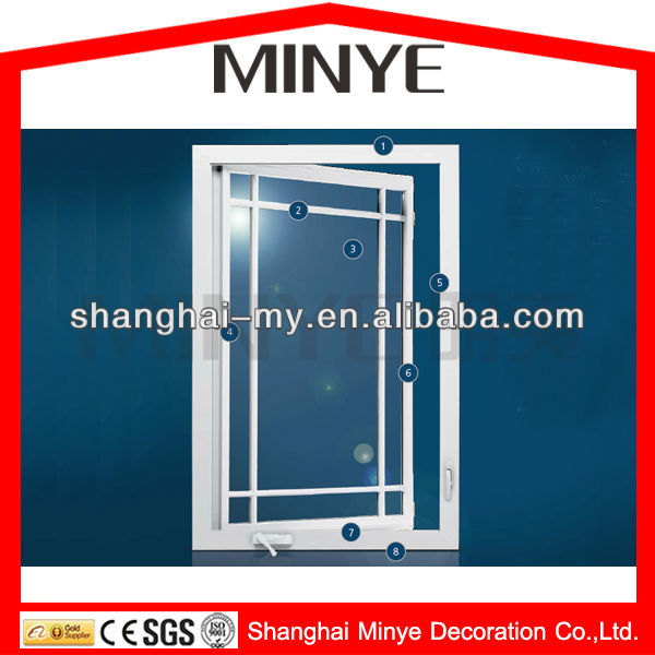 PVC PROFILES WINDOWS AND DOORS /EXTRUDED PVC PROFILE WINDOW/CHEAP PRICE PLASTIC UPVC WINDOWS