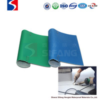 waterproof material reinforced PVC waterproof membrane for roofing