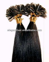 Top quality u-tip indian remy hair extension