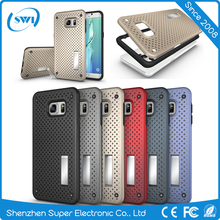 2017 Hot products cellphone screen protector Mesh cell phone case for Samsung S6 edge plus