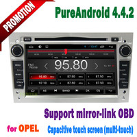 opel zafira gps with android 4.4 Capacitive screen 3g/wifi bluetooth mirror-link +hotspot+mp3/radio/dvd 2005~2011
