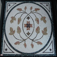 White stone mosaic tile marble price per square meter in Yunfu