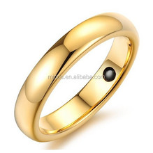 Mens Womens Promise Rings Inlay Health Care Magnetic Stone Smooth Surface Valentine Couples Engagement Wedding Ring