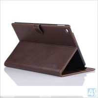 Ultra Slim Magnetic Case Stand Real Leather Wallet Cover for iPad Air 2 2014