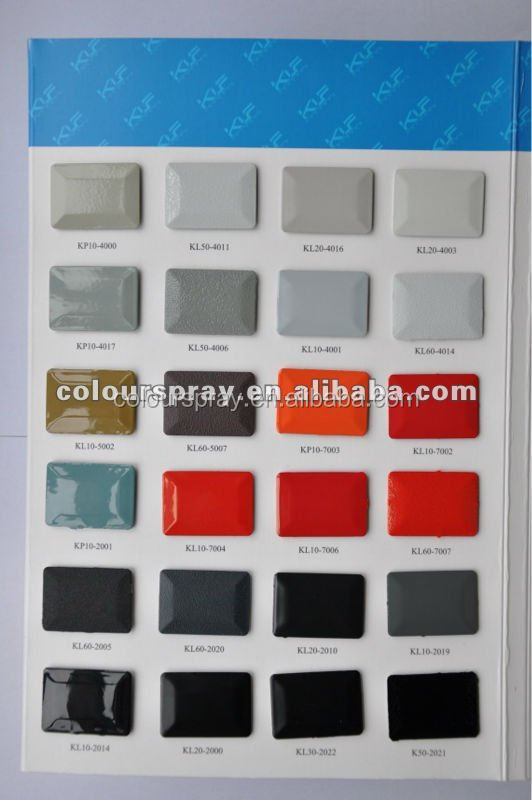 Electrostatic polyester epoxy powder paint