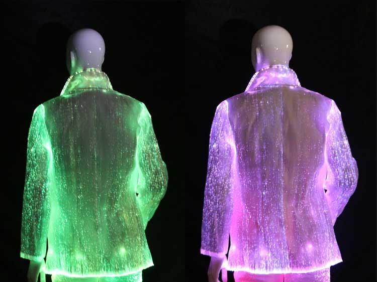 Fiber Optic Clothing Luminous Led Lighting Sexy Cosplay