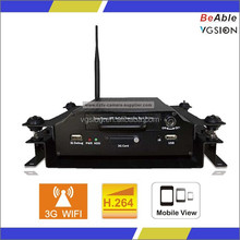 Video Recorder for Bus GPS Tracking 3G Mobile DVR Traffic DVR