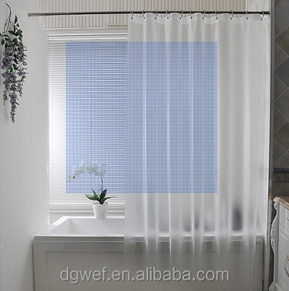 Factory price latest design waterproof shower curtain