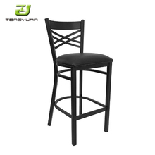 2017 China High Quality Starbucks Metal Tiki Bar Stool Bar Chairs